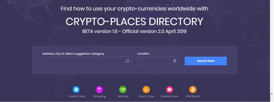 crypto places directory, cryptoplace, cryptoplaces,